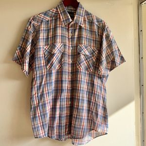 Western Young Bloods Pearl snap shirt size L